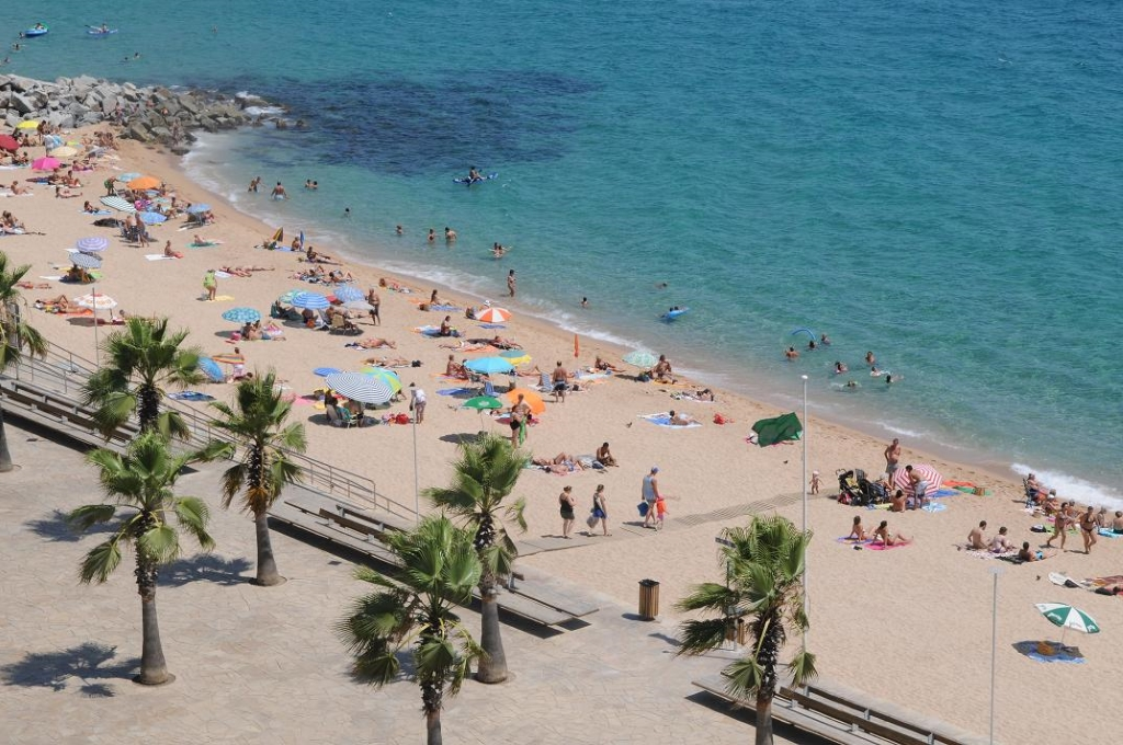 Пляж Са Абанель в г. Blanes - Набережные, пляжи в Испании